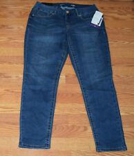 NWT Womens SEVEN 7 Mode Medium Wash Tummyless Skinny Denim Jeans Pants Sz 16 $69