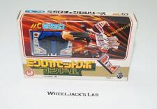 Laserbeak Condor BLUE MC-03 Micro Change Microman Pre G1 Transformers Takara