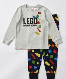 Unisex size 7 LEGO Master Builder midseason matching pyjamas Boys girls NEW