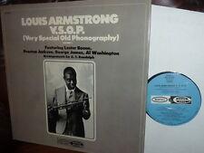 Louis Armstrong VSOP Lester Boone Preston Jackson USA