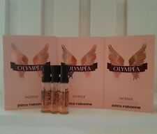3x Paco Rabanne Olympea Intense EDP 1.5ml Spray Vial