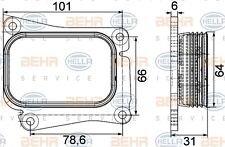 Mahle 8MO 376 756-731 OIL COOLER ENGINE MERCEDES C- E-C GENUINE WHOLESALE PRICE