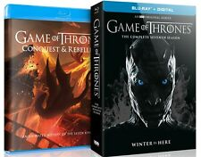 Game of Thrones The Complete 7th Season W/Bonus Disc (Blu-ray, 2017, Digit..