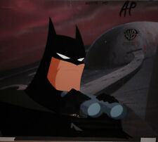 Batman 1970s Cartoon Original Animation Art Cel Bruce Wayne With Background Collectibles Comics