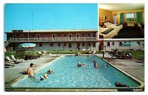 1950s/60s Sands Motel at Montauk, Long Island, NY Postcard *6V(2)23