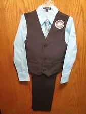 George Boys | 4 Piece Vest Pants Church Set | Size 6