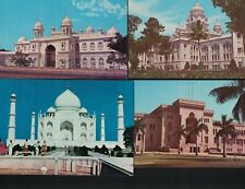 India Postcard Lot of 12 Photos of Hyderabad 1980s Commercial Book Depot