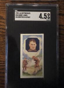 1930 J A Pattreiquex Bobby Jones  #38 SGC 4.5 VG Ex plus Celebrities in Sport