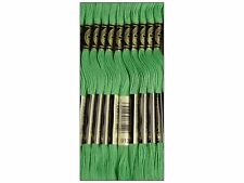 DMC 6-Strand Embroidery Cotton 8.7yd-Avocado Green Set Of 12