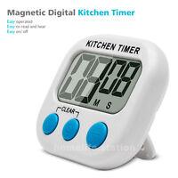 Minuteur LED Electronique Magnétique Cuisine Digital Alarme avec écranMagnétique