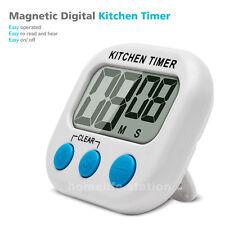 Minuteur LED Electronique Magnétique Cuisine Digital Alarme avec Magnétique New