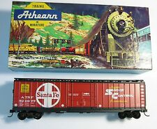 ATHEARN 1344 HO SCALE 50' Box Car Santa Fe w/Kadee Couplers (1344U1)