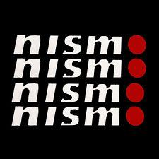 4PCS Reflective NISMO Auto Door Handle Bar Decal Vinyl Car Sticker for NISSAN