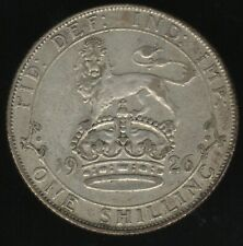 More details for 1926 me gv silver one shilling coin | british coins | pennies2pounds