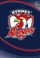 ✺Mint✺ 2009 SYDNEY ROOSTERS NRL Card CLUB LOGO Daily Telegraph
