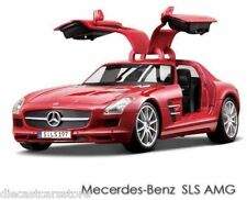 Maisto Mercedes Benz SLS AMG Gullwing RED 1/18 Diecast NEW IN BOX 36196RD