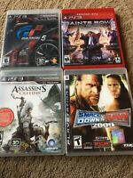4 Playstation 3 Games Complete with Cases & Instructions