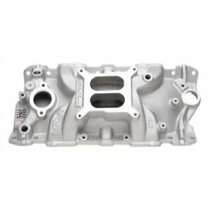 Edelbrock 2701 Performer EPS Intake Manifold; For 1955-1986 Chevy Small Block