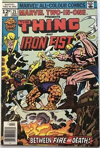 Marvel Two-In-One Vol 1 #25 (1977) The Thing and Iron Fist