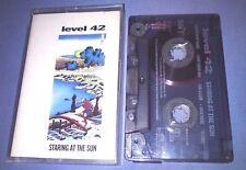 LEVEL 42 STARING AT THE SUN cassette tape album T2619