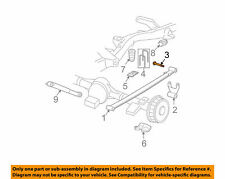 Gm Oem Rear Suspension-Shackle Bolt 11513937