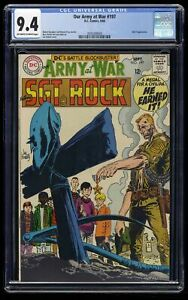 Our Army at War #197 CGC NM 9.4 Off White to White