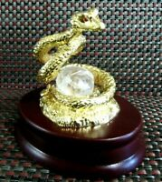 Table snake figurine, office desk decoration, office decor, home decor, snake
