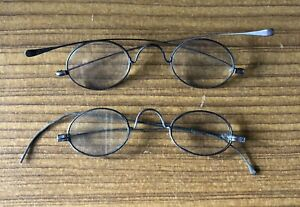 Victorian Spectacles -  2 Pairs Of Antique Glasses