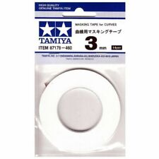 Tamiya Masking Tape for Curves 3mm - 20m roll - Tools / Accessories FREE POST