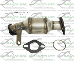 Catalytic Converter-Exact-Fit Front Left Davico Exc CA 19252