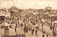 Amusement Park Rides, British Empire Exhibition UK England 1924 Vintage Postcard