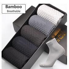 Mens Sock Quarter Sports Gym Socks Soft Business Anti-Bacterial Socks Sale