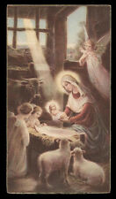 "santino-holy card""""ediz. NB n.416 NATIVITA'"