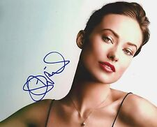 Olivia Wilde signed 8x10 photo - In Person Proof, Tron Legacy, Meadowland, Vinyl