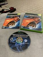 Need for Speed: Underground (Microsoft Xbox, 2003) CIB Tested And Working
