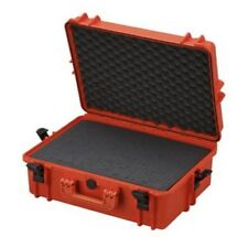 Max Ip67 Rated Waterproof Plastic Case With Foam 500x350x194mm Orange