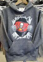 FREE SHIPPING Super Bowl LV SupermanTampa Bay Buccaneers  Hooded Sweatshirt