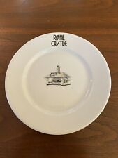 Royal Castle Restaurant Syracuse China Plate