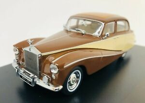 Oxford Diecast Rolls Royce Silver Cloud/Hooper Empress Brown/Cream 43EMP001 1:43