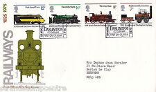 "1975 ferrocarriles-po-Darlington ""ticket"" gomígrafo"