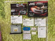 JVC KD-NX1R Navigationssystem CD Autoradio Doppeltuner RDS Radio KDNX1R Silber