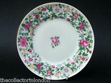 intage Crown Staffordshire Thousand Flowers Salad or Dessert Plates 21cm in VGC