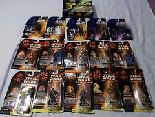 Lot of 16 Star Wars Action Figure  EPISODE 1, POTF, Shadow of the Empire, New