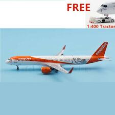 (Very Rare)1:400 PandaModel BOX18029 EasyJet A321NEO G-UZMA +Free Tractor