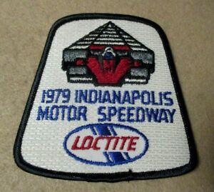 Sew Iron On Patch 1979  Indianapolis Motor Speedway Loctite