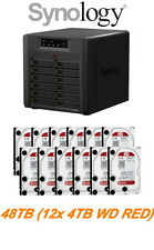 €2996+IVA SYNOLOGY DiskStation DS3612XS 48TB (12x4TB WD RED)  300MBs 4xGbE 4xUSB