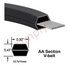 AA128 Major Brand Hexagonal Sección Doble Cara Correa