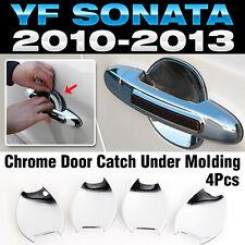 Chrome Door Catch Handle Under Molding Cover trim for HYUNDAI 2011-14 Sonata i45