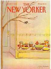 New Yorker COVER 04/09/1984 - Hungry Bird in Tree - MIHAESCO
