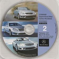 2001 2002 2003 S600 S500 S430 S55 CL600 CL500 CL55 Navigation CD North-Southwest